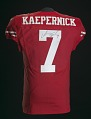View Football jersey signed by Colin Kaepernick digital asset number 1