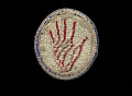 View Reproduction patch with Red Hand emblem digital asset number 1
