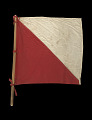 View Signal flag with pole digital asset number 1