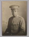 View Framed photograph of unidentified WWI soldier digital asset number 0