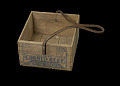 View Wooden box that held tinned corned beef digital asset number 0