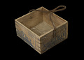 View Wooden box that held tinned corned beef digital asset number 1