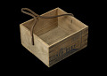 View Wooden box that held tinned corned beef digital asset number 2