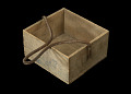 View Wooden box that held tinned corned beef digital asset number 3