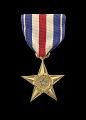 View The Silver Star issued for First Lieutenant John E. Warren, Jr. digital asset number 0