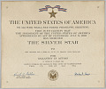 View The Silver Star Citation issued for First Lieutenant John E. Warren, Jr. digital asset number 0