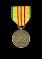 View Republic of Vietnam Service medal issued to First Lieutenant John E. Warren Jr. digital asset number 0