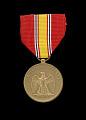 View National Defense Service medal issued to First Lieutenant John E. Warren Jr. digital asset number 0