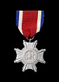 View Conspicuous Service Cross medal NY issued to First Lieutenant John E. Warren Jr. digital asset number 0