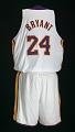 View Los Angeles Lakers uniform worn in NBA Finals by Kobe Bryant digital asset number 5