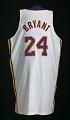 View Los Angeles Lakers uniform worn in NBA Finals by Kobe Bryant digital asset number 3