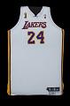 View Los Angeles Lakers uniform worn in NBA Finals by Kobe Bryant digital asset number 6