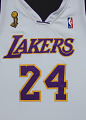 View Los Angeles Lakers uniform worn in NBA Finals by Kobe Bryant digital asset number 9