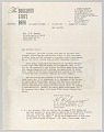 View Letter from H.W. Sewing for Daisy Bates Trust Fund digital asset number 0