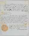 View Bill of sale for a man named Daniel to Jerome B. Annis digital asset number 3