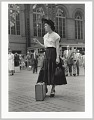 View <I>Well Dressed Woman at Penn Station, NY</I> digital asset number 0