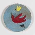 View <I>Untitled (Round Bird on Wood)</I> digital asset number 0