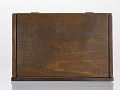 View Pine box owned by Pvt. Marquis Peterson, Co. F, 55th Mass. Vol. Inf. digital asset number 1