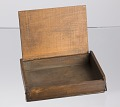 View Pine box owned by Pvt. Marquis Peterson, Co. F, 55th Mass. Vol. Inf. digital asset number 3