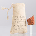 View Bag containing a piece of brick from Fort Sumter owned by Marquis Peterson digital asset number 5