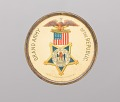 View Pinback button for the Grand Army of the Republic owned by Marquis Peterson digital asset number 0