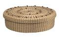 View <I>Lidded Cake Basket with French Knots</I> digital asset number 0