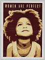 """View Poster from Women's March on Washington with """"Women are Perfect"""" digital asset number 0"""