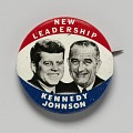 View Pinback button for Kennedy - Johnson 1960 presidential campaign digital asset number 0