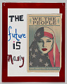 """View Placard with """"The Future is Nasty"""" used during the Women's March digital asset number 0"""