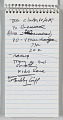 View Reporter's notebook owned by Jim Vance digital asset number 2