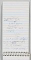 View Reporter's notebook owned by Jim Vance digital asset number 3