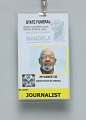 View Journalist pass for Nelson Mandela's State Funeral owned by Jim Vance digital asset number 2
