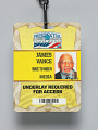 View Journalist pass for the 2013 Presidential Inauguration owned by Jim Vance digital asset number 2
