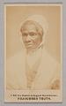 View Carte-de-visite portrait of Sojourner Truth digital asset number 0