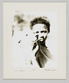 View Portrait of Ida Mae Johnson Nelson with a dog digital asset number 0