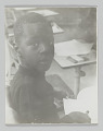 View Portrait of an unidentified student in kindergarten class digital asset number 0