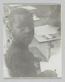 View Portrait of an unidentified student in kindergarten class digital asset number 0