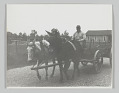 View Portrait of an anonymous man on a mule drawn cart at 6 a.m. digital asset number 0