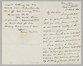 View Letter from Secretary Gideon Welles to his son Thomas digital asset number 0