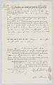View Bill of sale with two transactions for an enslaved man named Joe or Joseph digital asset number 0