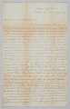 View Letter to Mrs. Mary Denham from Joseph May digital asset number 0