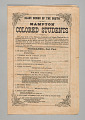 """View Program for """"Slave Songs of the South"""" by the Hampton Colored Students digital asset number 0"""