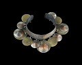 View Cuff bracelet with dangling orbs designed by Winifred Mason Chenet digital asset number 0