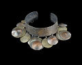 View Cuff bracelet with dangling orbs designed by Winifred Mason Chenet digital asset number 2