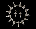 View Silverplate necklace designed by Winifred Mason Chenet digital asset number 2