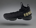 """View """"Equality"""" basketball shoes game-worn by LeBron James digital asset number 10"""