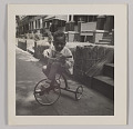 View Photographic print of Charles H. Houston, Jr. as a child on tricycle digital asset number 0