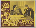 View Lobby card for the film Murder with Music digital asset number 0