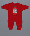 View Red watermelon juice onesie by Happy I'm Nappy Collectibles digital asset number 0