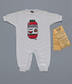 View White watermelon juice onesie by Happy I'm Nappy Collectibles digital asset number 0